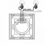 Interrupteur tactile 2 boutons Lumtouch - Design moderne, épuré et élégant - Modèle en verre noir - Garantie 5 ans de la marque Lumtouch image 3 produit