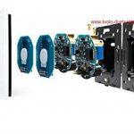 Interrupteur tactile double variateur VL-11/VL c701d c701d 11en verre blanc neuf de la marque Luxus-Time image 1 produit