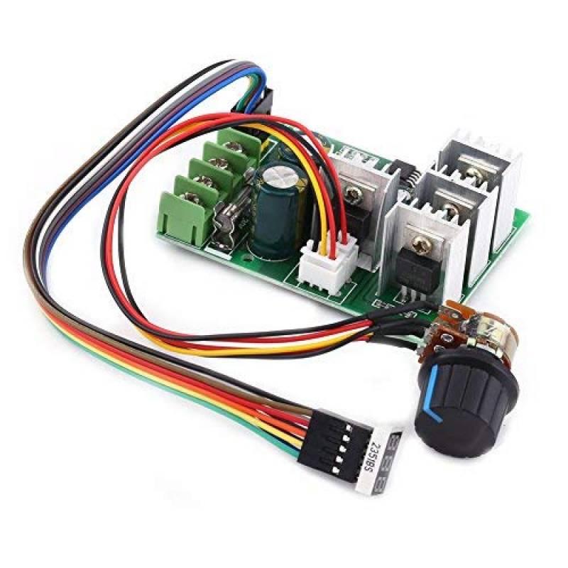 winomo PWM DC moteur Vitesse de Assiette Moteur /à courant continu Interrupteur 1.8/V 3/V 5/V 6/V 7.2/V 12/V 2/A 30/W 1803bkw