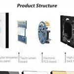 Interrupteur variateur de vitesse Ventilateur Applique murale EU standard Touch commutateur AC 110~ 250V de la marque Rongda Smart Home image 2 produit