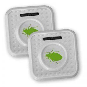 ISOTRONIC Anti-acariens et mites ultrason à piles contre les acariens Lot de 2 électrique écologique et atoxique de la marque Isotronic image 0 produit