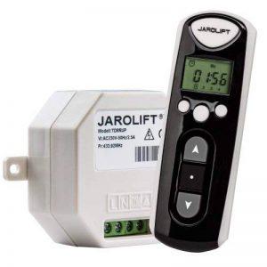 JAROLIFT 1x Télécommande Timer 4-canaux TDRCT 04 avec 7x récepteur radio TDRRUP de la marque Jarolift image 0 produit