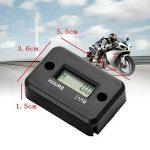 JZK étanche Affichage LCD Compteur horaire numérique Minuterie de jauge pour Quad Moto Motoneige motocross pit bike tondeuse à gazon tracteur camion de la marque JZK image 3 produit