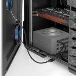 KabelDirekt 30cm câble de rallonge de ventilateur 3 broches + 15cm câble de ventilateur en Y 3 broches vers 2 x 3 broches de la marque KabelDirekt image 3 produit