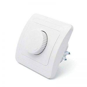 Kefflum Variateur Gradateur LED Variateur Interrupteur Universel, réglage de Lumière pour les LED et les Ampoules(Courbe) de la marque kefflum image 0 produit
