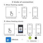 Kidult Interrupteur tactile avec panneau en verre intelligent Wi-Fi compatible avec Amazon Alexa, Google, Home, iOS Android App, blanc de la marque Kidult image 3 produit