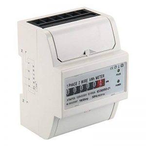 Kilowatt-heure Mètre 100A Compteur D'énergie Monophasé Wattmetere DIN-Rail BI104 de la marque XCSOURCE image 0 produit