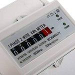 Kilowatt-heure Mètre 100A Compteur D'énergie Monophasé Wattmetere DIN-Rail BI104 de la marque XCSOURCE image 3 produit