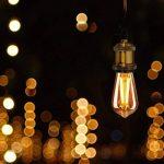KINGSO 3 Pack Edison Douille Vintage E27 Adaptateur De Lampe Rétro Vintage Lustre Sans Fil En Cuivre Céramique à L'intérieur 110-240V Laiton de la marque KINGSO image 1 produit