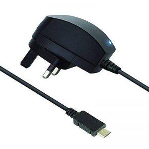 Kit Chargeur Secteur Micro USB 2.1A pour Prises Britanniques - Noir de la marque Kit image 0 produit