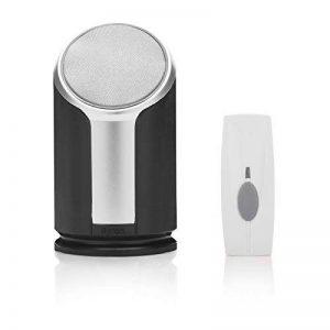 Kit de sonnette sans fil Byron BY302 – Haut-parleur de haute qualité – Portée de 200 m de la marque Byron image 0 produit