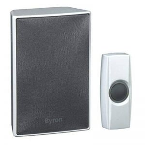 Kit de sonnette sans fil Byron BY601E – Haut-parleur de haute qualité – Portée de 200 m de la marque Eden image 0 produit
