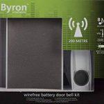 Kit de sonnette sans fil Byron BY601E – Haut-parleur de haute qualité – Portée de 200 m de la marque Eden image 2 produit