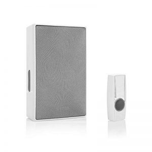 Kit de sonnette sans fil plug-in Byron BY611E – Portée de 200 m – 8 mélodies –Haut-parleur de haute qualité de la marque Eden image 0 produit