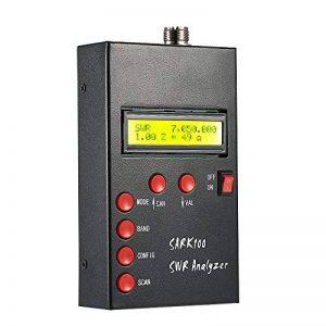 KKmoon 1–60 MHz Hf Ant SWR Antenna Analyseur Testeur , RF mètres sont micro-ondes pour radio Jambon hobbyisten Impédance (Résistance + réactance) Capacité de Mesure de la marque KKmoon image 0 produit