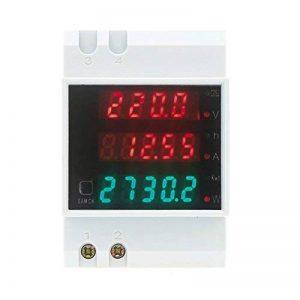 KKmoon AC80-300V 100 a multifonctionnel numérique Din Rail courant tension puissance facteur compteur Ampèremètre Voltmètre de la marque KKmoon image 0 produit