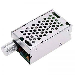KKmoon DC Réglable Brosse Moteur Variateur PWM Régulateur 12V/24V/36V/60V 8 A 400W avec Interrupteur de Commande de la marque KKmoon image 0 produit