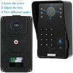 KKmoon Vidéo Phone Intercom Sonnette Visuel de porte avec 1pcs 1000TVL CCTV Caméra extérieure de sécurité + 1pcs 7inch Moniteur intérieur pour Maison Surveillance TP02S-11 de la marque KKmoon image 4 produit