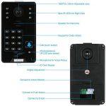 KKmoon Vidéo Phone Intercom Sonnette Visuel de porte avec 1pcs 1000TVL CCTV Caméra extérieure de sécurité + 1pcs 7inch Moniteur intérieur pour Maison Surveillance TP02S-11 de la marque KKmoon image 3 produit