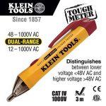 Klein Tools NCVT-1Testeur de tension sans contact, multicolore, NCVT-2, 1000V de la marque Klein image 1 produit