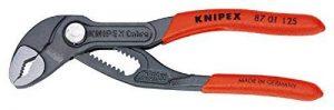 Knipex Cobra 87 01 125 – Mini-pince multiprise poignées plastifiées 125 mm de la marque Knipex image 0 produit
