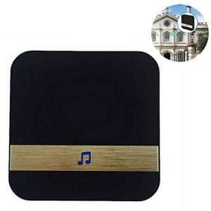 KOBWA Carillon de Porte, capteur magnétique de Carillon de Porte d'alarme de Porte d'entrée sans Fil Carillon Ouvert sans Fil spécialement utilisé la Sonnette vidéo de la marque KOBWA image 0 produit