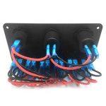 Kongqiabona Combinaison de commutateur à 6 Panneaux avec Prise de Courant électrique Recharge de Voiture Rechargeable à LED Interrupteur à Del pour Voiture de Tourisme de la marque Kongqiabona image 3 produit