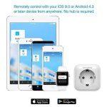Koogeek Prise Intelligente Wifi Smart Plug, 2.4GHz avec HomeKit,Siri, Alexa,Google Home app Adapté pour iOS 9.0 et Android 4.3 de la marque Koogeek image 4 produit