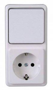 Kopp 108802007Prise murale Interrupteur Combinaison Surface monté standard de la marque Kopp image 0 produit