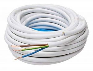 Kopp 151825002 Conduite en tuyau H05 VV-F, 1,5 mm² Blanc 25 m de la marque Zeus image 0 produit