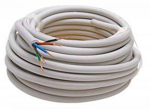 Kopp 153010840 Câble gainé NYM-J 5 fils Gris 5 x 1,5 mm² 10 m de la marque Kopp image 0 produit