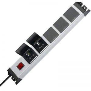 Kopp 227320017 Powerversal Multiprise 5 prises avec interrupteur éclairé et couvercles rabattables protection IP 20 de la marque Kopp image 0 produit