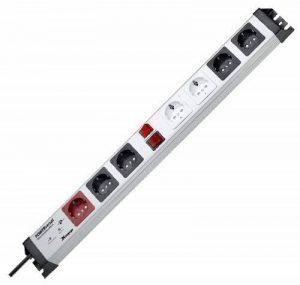 Kopp 227620016 Powerversal Barre multiprise avec 7 prises, Master-Slave et filtre anti-surtension Safetronic de la marque Kopp image 0 produit