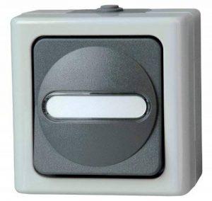 Kopp 560756009 Blue Electric Interrupteur permutateur avec voyant lumineux de la marque Kopp image 0 produit