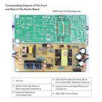 Koyoso 12V 10A Transformateur Convertisseur, 120W Alimentation Électronique AC à DC Adaptateur, 100-220V/230/240V AC Allume Cigare Prise à 12V DC Adaptateur de la marque Koyoso image 3 produit