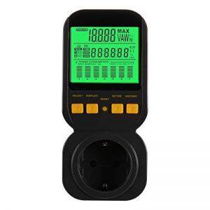 Kreema Le compteur intelligent d'ampères de tension watt d'énergie mètre prise d'affichage avec le moniteur d'utilisation l'électricité réduisent votre énergie de la marque Kreema image 0 produit