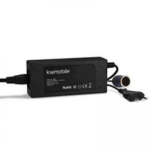 kwmobile Adaptateur de Tension 230V vers 12V - Convertisseur électrique Allume-Cigare vers Prise câble 1,82m env - Redresseur appareils 72W Max de la marque kwmobile image 0 produit
