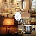 LAKES Ampoule LED A60 Culot E27 (Grosse Vis), 9W - Equivalence Incandescence 60W, Ampoule BC Blanc Chaud 3000K, Ampoule sphérique, Lot de 6 de la marque LAKES image 1 produit