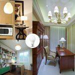LAKES Ampoule LED Globe A60 Culot B22, 100W Équivalent Ampoule sphérique, 6000K Blanc froidK, Lot de 6 de la marque LAKES image 1 produit
