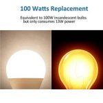 LAKES Ampoule LED Globe A60 Culot B22, 100W Équivalent Ampoule sphérique, 6000K Blanc froidK, Lot de 6 de la marque LAKES image 4 produit