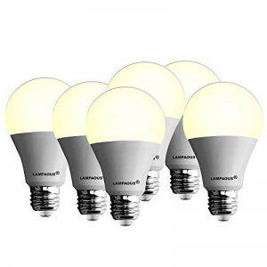 lampaous® Lot de 6Ampoule LED 15W E27LED A70GLS Culot à vis Edison Lampe globe, Couleur Blanc Chaud 3000K, 1500lumens Super Bright Lights 120W équivalent ampoules à incandescence, respectueux de l'environnement, Haute efficacité 85% d'économie d'én image 0 produit