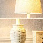 Lampe de table avec télécommande américaine rétro lampe de bureau Personnalité résine lampe de table créative lampe de lecture dimmable (Color : B-Dimmer switch) de la marque TSDS image 4 produit