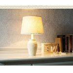 Lampe de table avec télécommande américaine rétro lampe de bureau Personnalité résine lampe de table créative lampe de lecture dimmable (Color : B-Dimmer switch) de la marque TSDS image 2 produit