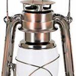 Lampe tempête LED rétro – Interrupteur rotatif avec fonction variateur – Boîtier en métal – Batterie – Blanc chaud (2700 K) de la marque HAVA image 1 produit