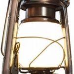 Lampe tempête LED rétro – Interrupteur rotatif avec fonction variateur – Boîtier en métal – Batterie – Blanc chaud (2700 K) de la marque HAVA image 2 produit