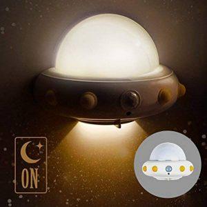 LED Veilleuse Lampes pour Chambres d'Enfants et Bébé Lumière Chaud Lamp Murale avec Capteur Mouvement Physique PIR 2pcs de la marque HUABEI image 0 produit