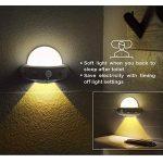 LED Veilleuse Lampes pour Chambres d'Enfants et Bébé Lumière Chaud Lamp Murale avec Capteur Mouvement Physique PIR 2pcs de la marque HUABEI image 1 produit