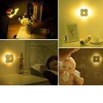 LED Veilleuse Lampes pour Chambres d'Enfants et Bébé Lumière Chaud Lamp Murale avec Capteur Mouvement Physique PIR pour Couloir /Entrée / Escalier /Toilette 2pcs de la marque HUABEI image 4 produit