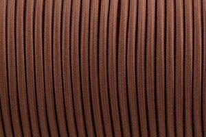 Ledsone 10metres de long 3Core Tissu tressé câble d'éclairage Flex Cordon vintage industriel/Red-black-brown-gold-black et blanc Couleurs, marron de la marque Ledsone image 0 produit
