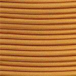 Ledsone 10metres de long 3Core Tissu tressé câble d'éclairage Flex Cordon vintage industriel/Red-black-brown-gold-black et blanc Couleurs, or de la marque Ledsone image 2 produit